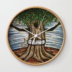 Orixás - Tempo Wall Clock