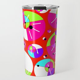 Bubble Red Travel Mug