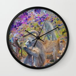 Dinner at Clarence Wall Clock
