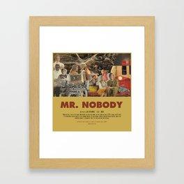 Mr. Nobody - Jaco Van Dormael Framed Art Print
