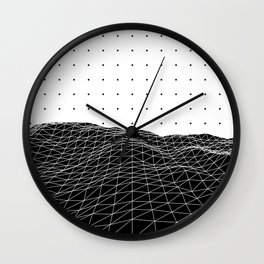 Terra Graphica Wall Clock
