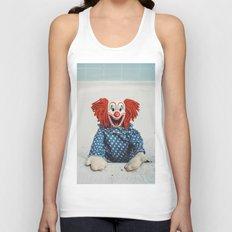 Can't Bathe Clown Will Eat Me Unisex Tank Top