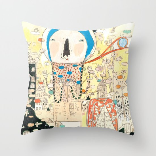 """""""My life is my message.""""  Throw Pillow"""
