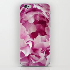 I Love peonies iPhone & iPod Skin