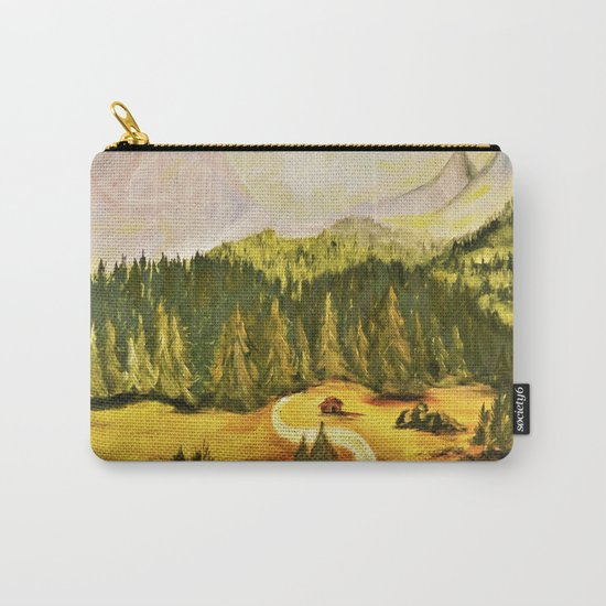austrian mountains Carry-All Pouch