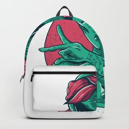 Alien Gangsta Backpack