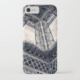 Eiffel Steel iPhone Case