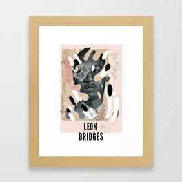 Leon Bridges Framed Art Print