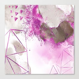 Violette mystique Canvas Print