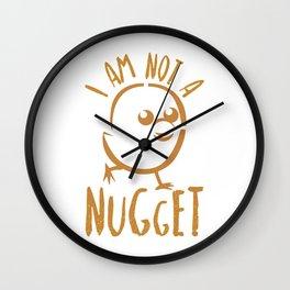 Nugget Wall Clock