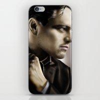 leonardo dicaprio iPhone & iPod Skins featuring Leonardo DiCaprio by Duke78