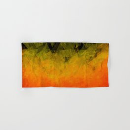 Sunset Abstract Facets Hand & Bath Towel
