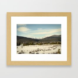 the never summers Framed Art Print