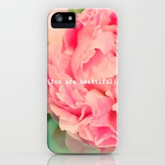 {You are beautiful} Slim Case iPhone (5, 5s)