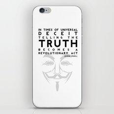 Truth Revolution iPhone & iPod Skin