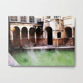 Roman Baths Metal Print