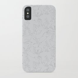 Hares iPhone Case