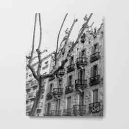 Barcelona connections Metal Print
