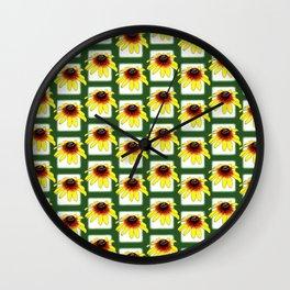 Gloriosa Daisies Wall Clock