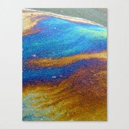 making waves Canvas Print