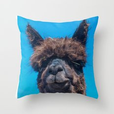 STRAW IS TRENDY Throw Pillow