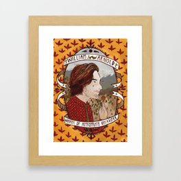 Appropriate neckwear Framed Art Print