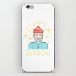 The life aquatic zissou iPhone Skin