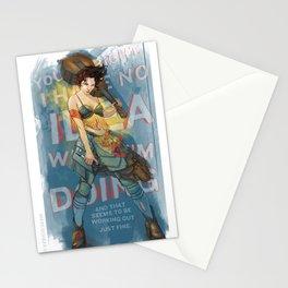 Knight of Wands (Amanda Palmer) Stationery Cards