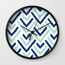 Barbados blue Wall Clock