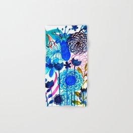 Blue Burst Hand & Bath Towel