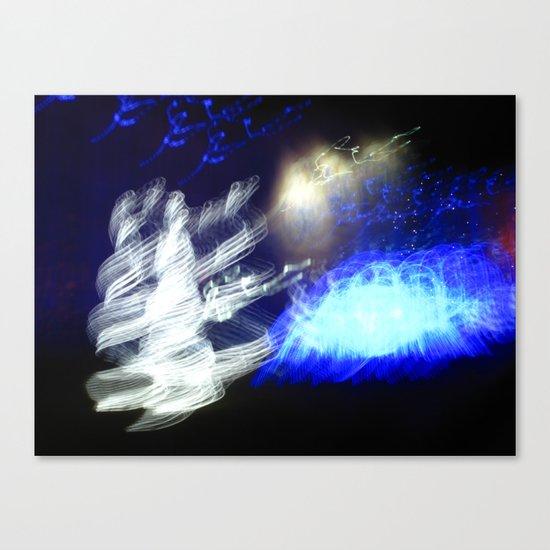 Snow Queen Disco Canvas Print