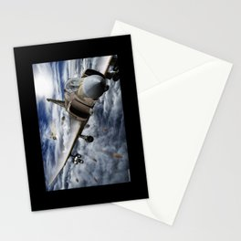 Mig at six !!! Brake left !!! Stationery Cards