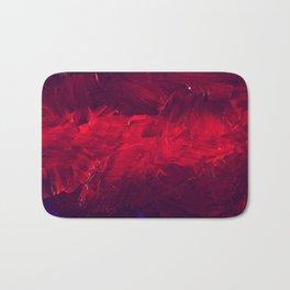 Modern Art - Dark Red Throw Pillow - Jeff Koons Inspired - Postmodernism - Corbin Henry Bath Mat