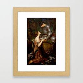 "John William Waterhouse ""Lamia"" Framed Art Print"