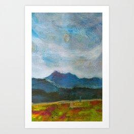 Eyes in the sky Art Print
