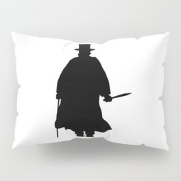 Jack the Ripper Silhouette Pillow Sham