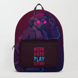 Work Hard, Play Harder Backpack