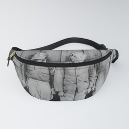 American, British, French, & German Gas Masks Fanny Pack