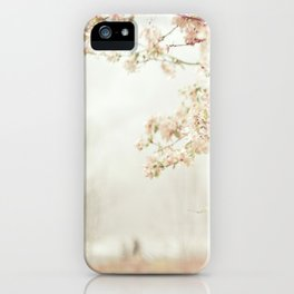 Cherry Tree Garden iPhone Case