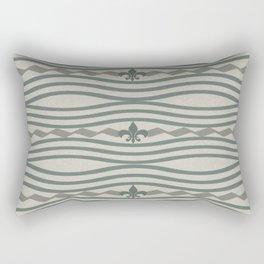 Corduroy Pattern Lines Rectangular Pillow