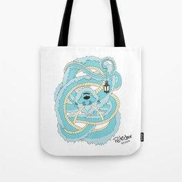 Dragon w/ Lantern Tote Bag