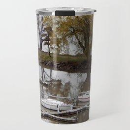 Weeping Willow and the Marina Travel Mug