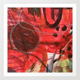 Breathe in stereo Art Print