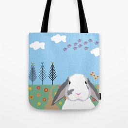 Jokke, The Rabbit Tote Bag