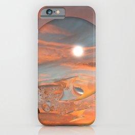 Lunar Sunset iPhone Case