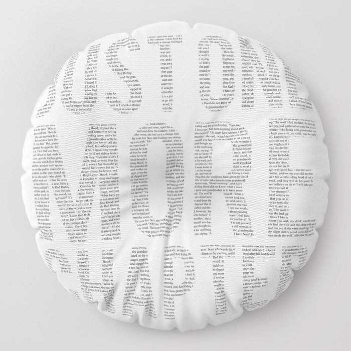 Just One More Chapter Floor Pillow