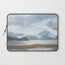 SITKA SOUND 01, Travel Sketch by Frank-Joseph Laptop Sleeve