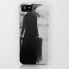 She rode her storm well iPhone Case