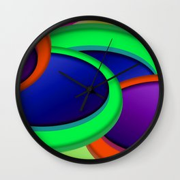 Some buttons ... Wall Clock