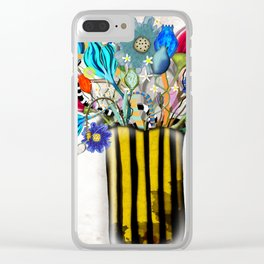 Rupy de Tequila 2019  - Wedding Vase of flowers Clear iPhone Case
